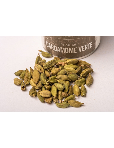 Green Cardamom Seeds from Kerala (India)