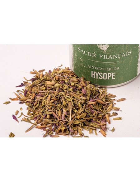Hyssop dried leaves